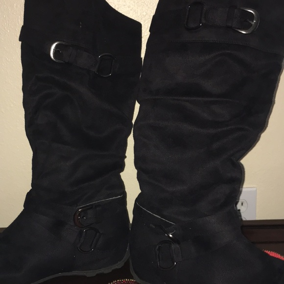 ed92f076eb800 jcpenney Shoes - Women s slouch Boots